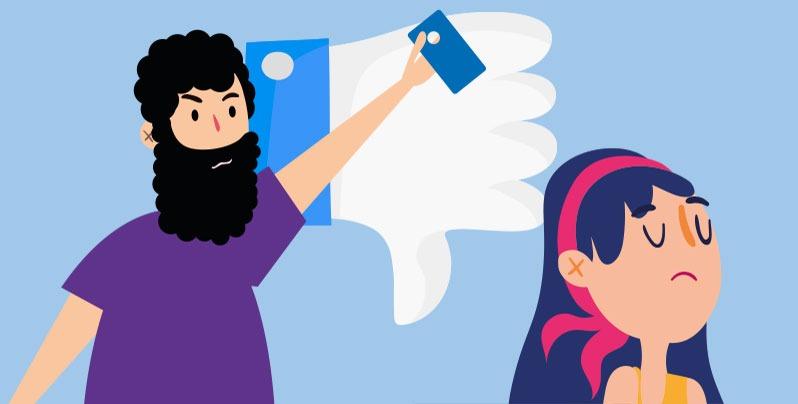 Bulos sobre violencia de género
